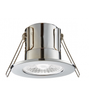Saxby Lighting ShieldECO 800 IP65 8.5W cool white  (Chrome)