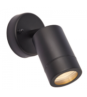 Saxby Lighting Palin spot wall IP44 7W  (Black)