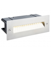Saxby Lighting Seina guide IP44 2W Cool White  (Brushed Stainless)