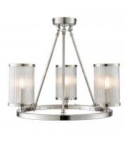 Endon Lighting Easton 3lt Semi Flush 40W