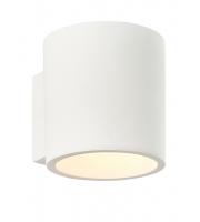 Endon Lighting Curve 1lt wall 28W (White)