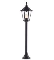 Endon Lighting Burford bollard IP44 60W (Black)