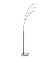 Endon Lighting Fynn 3lt floor 5W SW warm white (Satin Nickel)