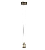 Endon Lighting Cambourne 1lt pendant (Antique Brass) SALE