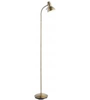Saxby Lighting Amalfi task floor 7W SW (Antique Brass)