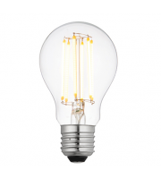 Saxby Lighting E27 LED filament GLS dimmable 8W warm white (Clear)