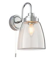 Endon Lighting Ashbury 1lt wall IP44 4W (Chrome) SALE