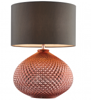 Endon Lighting Livia table 60W SW (Copper)