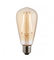 Endon Lighting E27 LED Filament Pear 2W Warm White