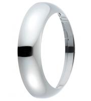Saxby Lighting Forca chrome plain bezel  (Chrome)