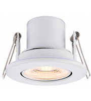 Saxby Lighting ShieldECO 800 Tilt 8.5W warm white (White)