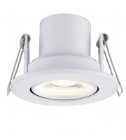 Saxby Lighting ShieldECO 800 Tilt 8.5W cool white (White)