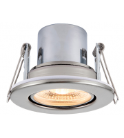 Saxby Lighting ShieldECO 800 Tilt 8.5W warm white  (Satin Nickel)