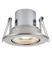 Saxby Lighting ShieldECO 800 Tilt 8.5W cool white (Satin Nickel)