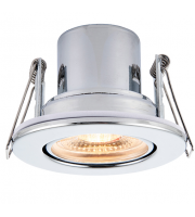Saxby Lighting ShieldECO 800 Tilt 8.5W warm white  (Chrome)