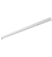 Saxby Lighting Oxxo 4ft single IP20 (White)