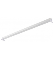 Saxby Lighting Oxxo 6ft twin IP20 (White)