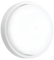 Saxby Lighting Rond IP54 12W cool white (Matt White)