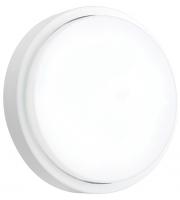 Saxby Lighting Rond Microwave IP54 12W cool white (Matt White)