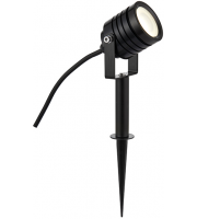 Saxby Lighting Luminatra spike black IP65 4W cool white (Black)