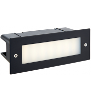 Saxby Lighting Seina plain IP44 3.5W cool white (Black)
