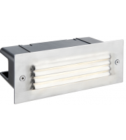 Saxby Lighting Seina louvre IP44 3.5W cool white (Stainless Steel)
