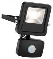 Saxby Lighting Surge PIR 10W IP44 10W cool white  (Matt Black)