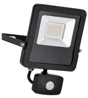 Saxby Lighting Surge PIR 30W IP44 30W cool white (Matt Black)
