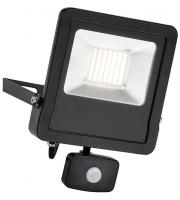 Saxby Lighting Surge PIR 50W IP44 50W cool white (Matt Black)