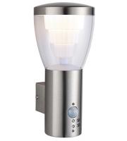 Saxby Lighting Carraway PIR 1lt wall IP44 10.8W (cool white)