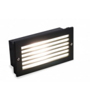 ALL LED Led 10W Brick Light Black 4K IP65 240V (Black)