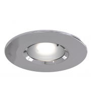 Ansell Edge Frd IP65 GU10 Chrome Downlight