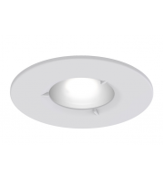 Ansell Edge Frd IP65 GU10 Matt White Downlight