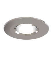 Ansell Edge Frd GU10 Satin Chrome Downlight