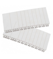 Fusebox 18MM Module Blanks 2 Strips of 12 Blanks (WHITE)