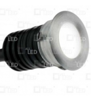 ALL LED 1W 4000K Led Marker Light, IP44 (Aluminium)