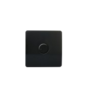 RED ARROW  Trendi Artistic Modern Glossy Tactile Dimmer switch (Black)