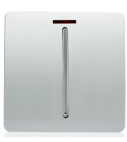 RED ARROW 45 Amp Neon Insert (Silver)