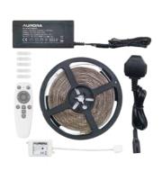 Aurora Bluetooth 5m Rgbcx Led Strip Kit C/w Remote Controller & Uk Plug