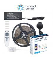 Aurora Bluetooth 3m Rgbcx Led Strip Kit C/w Remote Controller Uk Plug