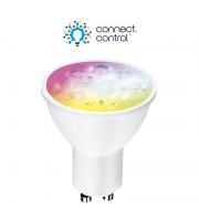 Aurora Bluetooth 220-240V 5W GU10 Dimmable Rgbcx Led Lamp