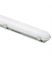 Aurora 1200mm 25W Polycarbonate IP65 Single Emergency LED Non-Corrosive (White)