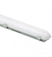 Aurora 1200mm 25W Polycarbonate IP65 Single Emergency LED Non-Corrosive (White)