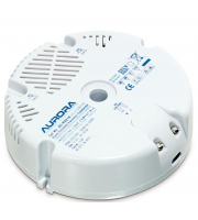 Aurora Lighting 210W/VA Round Electronic Transformer (White)