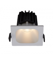 Ansell 15W Unity 100 Square 4000K Led Dimmable Downlight