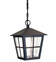 Elstead Canterbury 1 Light Grande Wall Down Lantern (Black)