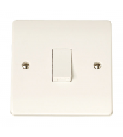 Click Scolmore 1-GANG 2-WAY 10A Plate Switch