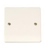 Click Scolmore 20A Flex Outlet Plate