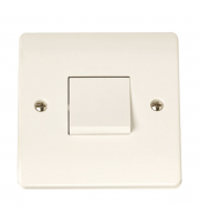 Click Scolmore 1-GANG 3-POLE 10A Switch