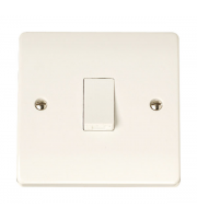Click Scolmore 1-GANG Intermediate 10A Plate Switch